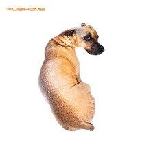 1 unidades Creativo Pequeña Forma de Perro Decorativo Cojín Juguetes de Tiro Regalo almohada Con Relleno Interior Sofá Decoración del Hogar Nueva Llegada 40×17 cm