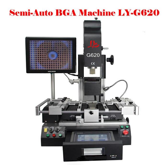 Poste de reprise automatique BGA LY G620 bga machine à souder avec écran tactile pour réparation de téléphone portable