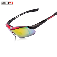 WOSAWE Polarized Motorcycle Glasses Protection Racing Goggles UV protection Outdoor Sports windproof glasses Multi-colors Lens