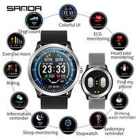 NEW Fashion Men Smart Watch IP68 Waterproof Blood Oxygen Heart Rate Monitor Fitness Tracker Sport Watches Pedometer Message +Box