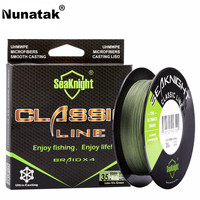 Nunatak Classic Fishing Line 500 M 546YDS Braided Fishing Line 4 Strand 4 Strong Weave Multifilament