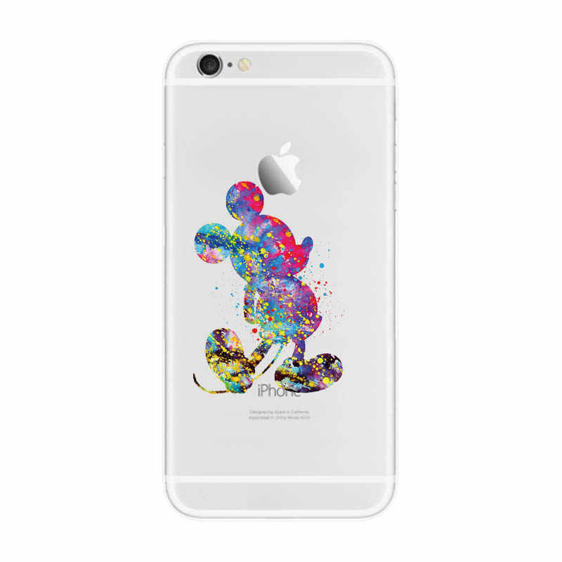 Case For iphone 7 Case Cover Silicone Soft Shell Cover For Apple iPhone 5 5s se 6s 6 s 7 8 plus x 10 Bags Funda