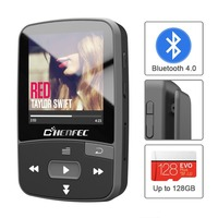 Original ChenFec mp3 player bluetooth with 8gb memory and Pedo Meter World Clock FM Radio etc for christmas gift