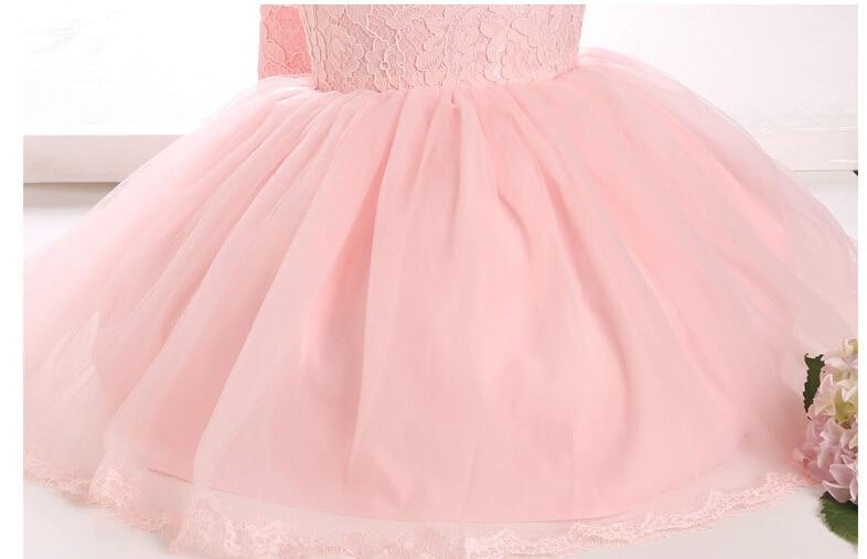 Alta calidad vestidos de bautizo de niña princesa del vestido del ...