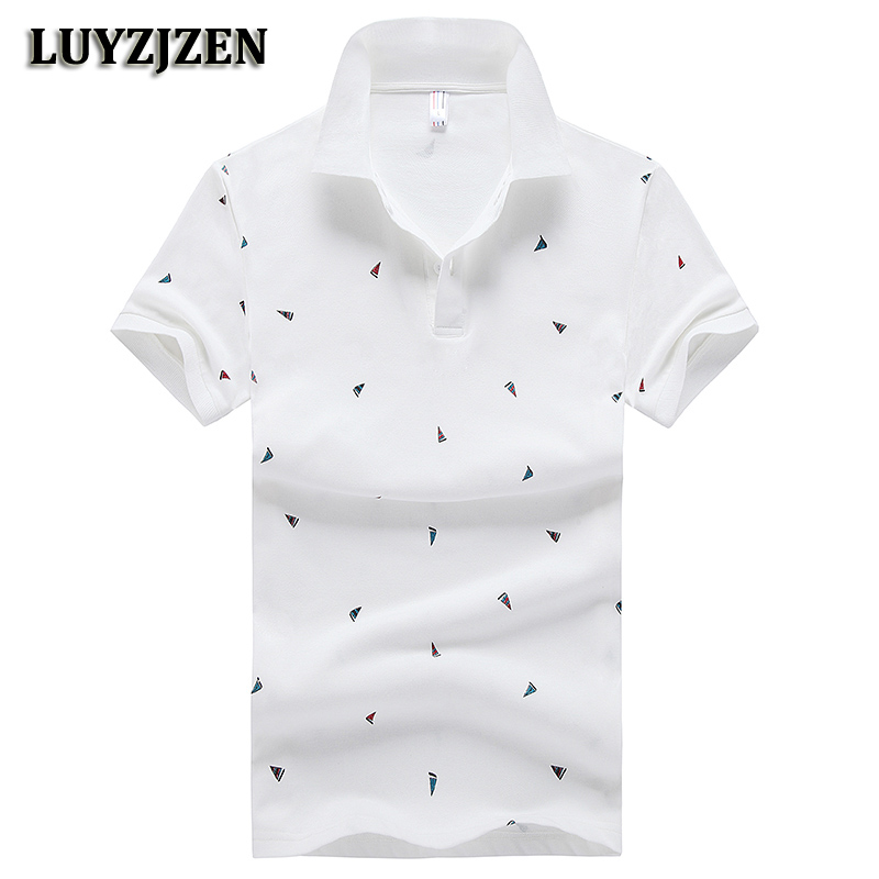 New Brand Casual Cotton Polo Shirts Short Sleeve Men Heren Teenager Leisure Thin Polo Shirts For Men Solid Top Tee Slim Fit K147
