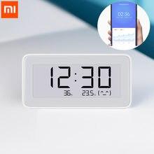 Xiaomi Mijia — Horloge électrique intelligente sans fil BT4.0, digitale d'intérieur, avec hygromètre, thermomètre, outils de mesure de la température