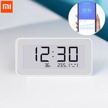 Nowy Xiaomi Mijia BT4.0 bezprzewodowy inteligentny elektryczny zegar cyfrowy kryty higrometr termometr e ink narzędzia do pomiaru temperatury