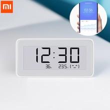 Xiaomi Mijia BT4.0 Thông Minh Không Dây Điện đồng hồ Kỹ Thuật Số Trong Nhà Ẩm Kế Nhiệt Kế E Mực in Nhiệt Độ Đo Dụng Cụ