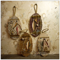 4pcs Nordic wall decoration American country ornaments vintage home accessories wedding gifts