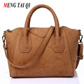 Women leather handbags shell bag crossbody bags for women shoulder bags top-handle bags High Quality Hot sale 2016 retro tote 5