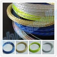 480 pçs 12m áspero 1.35mm titanium tennis string linha de cristal potência raquetes de tênis cordas formação linha
