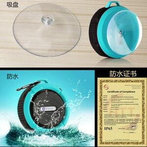 Image 3 - KOOYUTA yeni açık spor su geçirmez IP65 bluetooth hoparlör stereo taşınabilir emme Handsfree yürüyüş bisiklet seyahat
