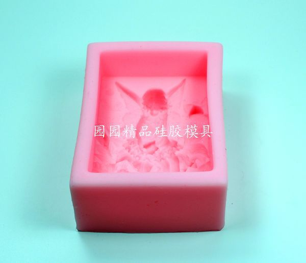 Цвет деца Лунлун анђео силикон мило - Уметност, занатство и шивање - Фотографија 2