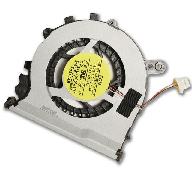 Nuevo ordenador portátil ventilador de la cpu para samsung np 530u3c 530u3b 535u3c 532u3c 540u3c np535u3c 5 v 0.4a