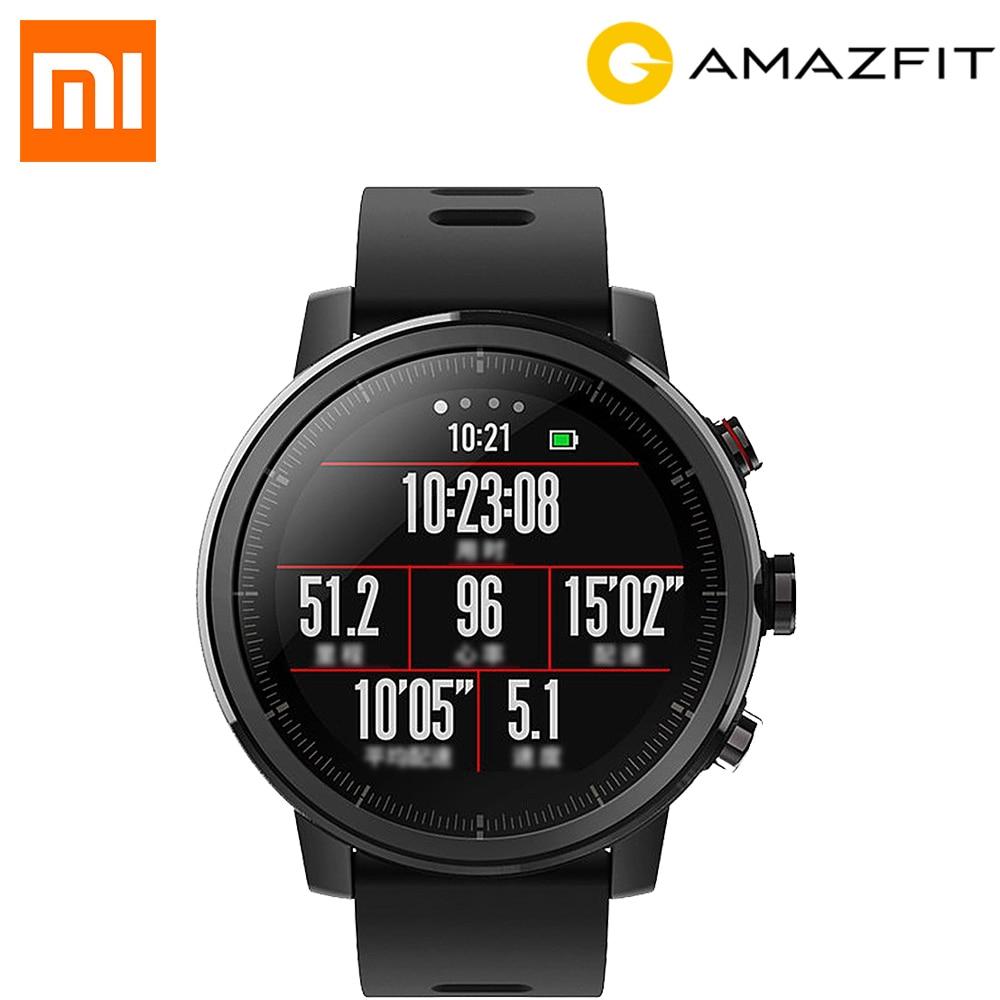 Xiaomi HUAMI AMAZFIT Stratos Smart Sports Watch 2 GPS 1 34 2 5D Screen 5ATM Water