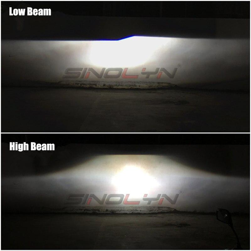sinolyn anjo olhos bi xenon lente 25 projetor 04