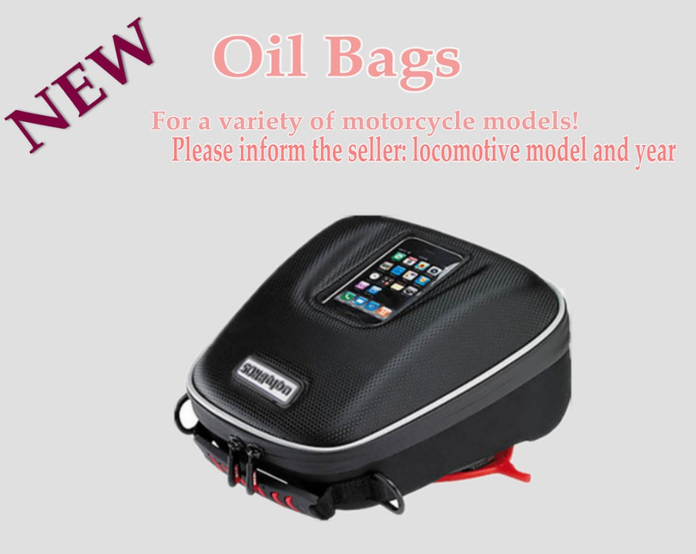 motorcycle Tank bags mobile navigation bag fits KAWASAKI send waterproof cover consulting model and year motorcycle bag tank bags motos multifunction luggage universal motorbike oil fuel tank bags magnet oxford saddle bags