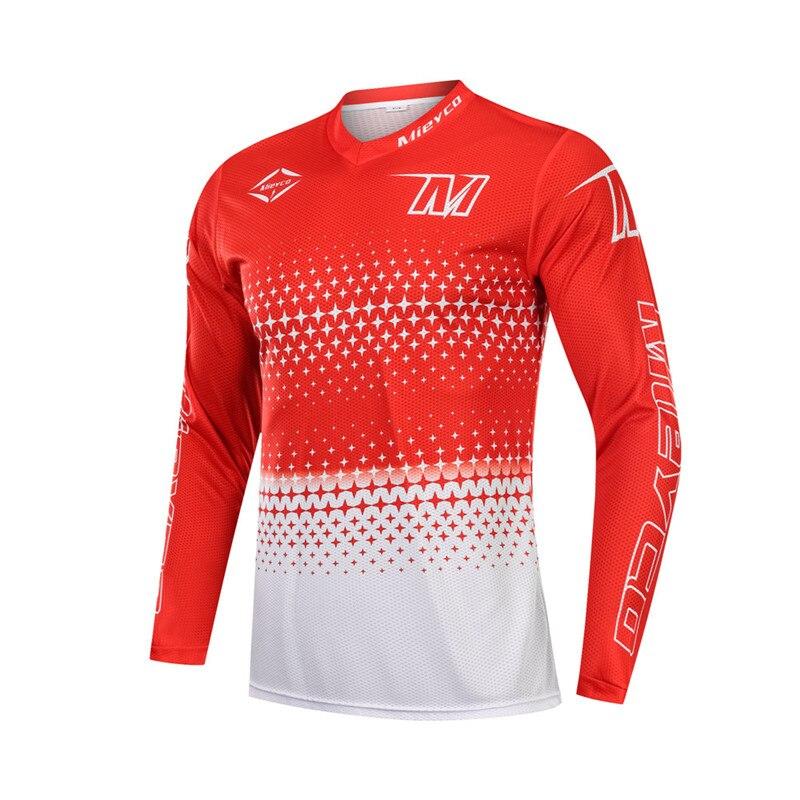Dos homens de Alta Qualidade Roupas Downhill jersey DH MX motocross MTB DH Mountain Bike Equitação Tops Off Road Jaqueta Ao Ar Livre sportswear