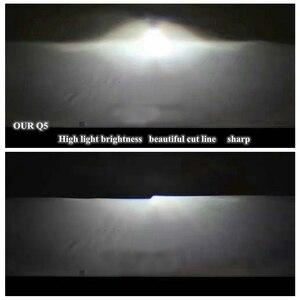 Image 5 - Lentille de projection au xénon caché, 3.0 pouces H4Q5 Bi, support métallique D2S D2H, ampoule au xénon, pour LED jours de course, yeux dange, décoration de voiture, 2 pièces