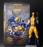 Crazy Toys The Wolverine X MEN Super Hero 26cm PVC Action Figure Model Collectible Toy gift Decoration Free shipping