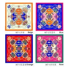 square scarf for women satin silk 90x90cm casaco feminino hijab lady shawl bandana muslim head scarves 10pcs/lot