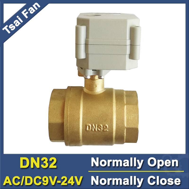 TF32 B2 C High Quality AC DC9V 24V Normally Close Normally Open Valve 2 Way 1