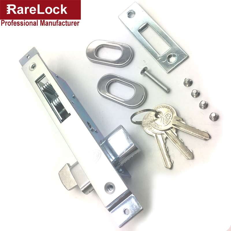 Rarelock Christmas Supplies Sliding Door Lock with 3 Keys for Bedroom Balcony Bathroom Accessory Home Security. Compare Prices on Bathroom Door Lock  Online Shopping Buy Low