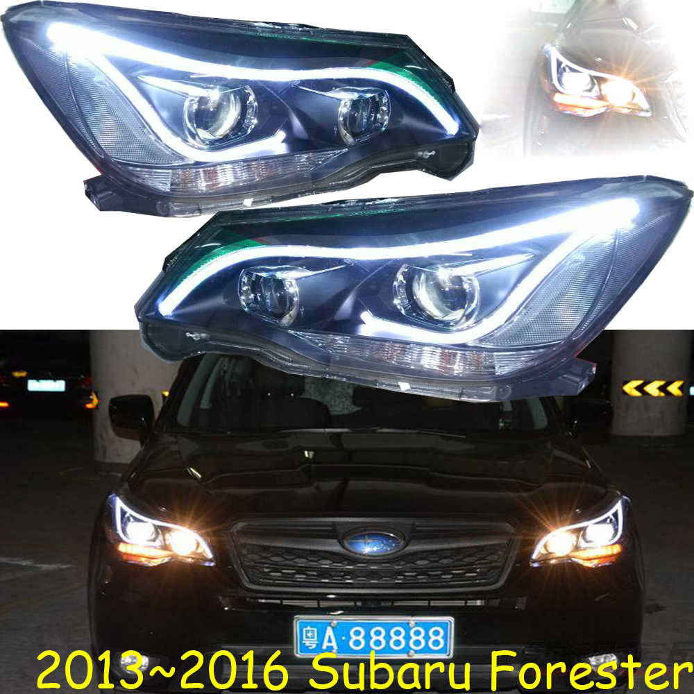 Hid 2013 2016 Car Styling Forester Headlight Tribeca Baja