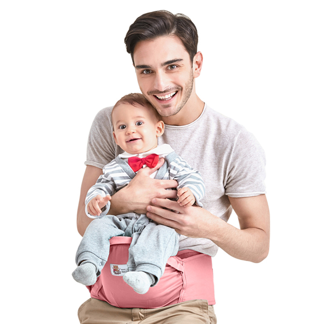 Bethbear Baby Carriers Infant Hip Seat Toddler Waist Stool Carrier Multifunctional Front Facing Comfortable Pouch Wrap Kangaroo 2