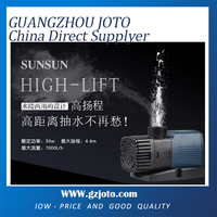 50W 7000L/h JTP 7000 electric submersible pump price for swimming pool garden pond