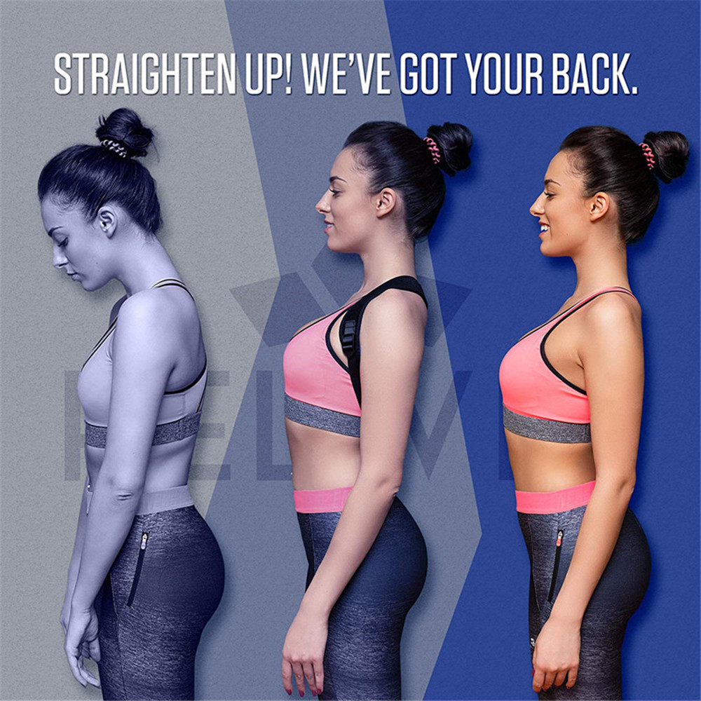 WARMLIFE Back Posture Corrector Belt with Adjustable Magic Straps of High Quality to Correct Humpback Non Surgically Helps to Improve the Correct Posture 8
