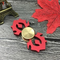 TOFOCO Hand Spinner Fidget Spinner Stress Cube Brass Focus Keep Toy And ADHD EDC Anti