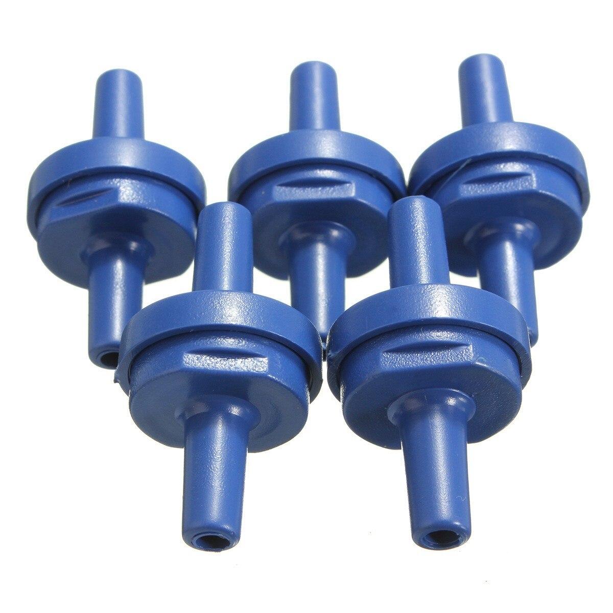 Heimwerker Klug 5 Stücke Kunststoff Dark Blue One Way Air Rückschlagventile Nicht Rückkehr Anti Siphon Für Pumpe Moderater Preis