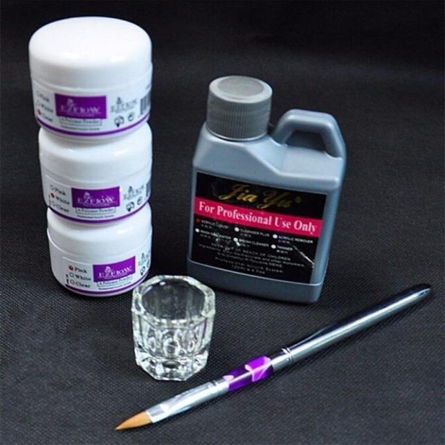Pro Simply Nail Art Kits Professional Acrylic Liquid Powder Pen Dappen dish Tools Set Decoration DIY Manicure Tools Tips Kits pro skit dp 3616 professional diy soldering aid tools 6 pcs