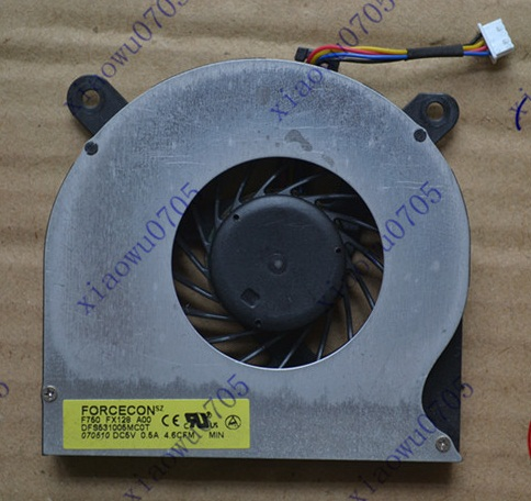 SSEA New CPU Cooling Fan for DELL Latitude E6510 E6400 E6410 Laptop FAN DFS531005MC0T
