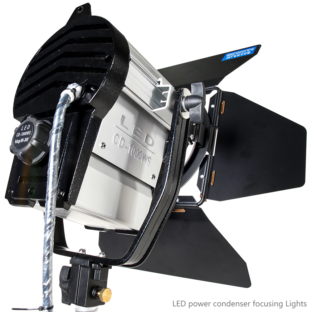 3 дана 100 Вт жарық диоды бар студия Fresnel - Камера және фотосурет - фото 3