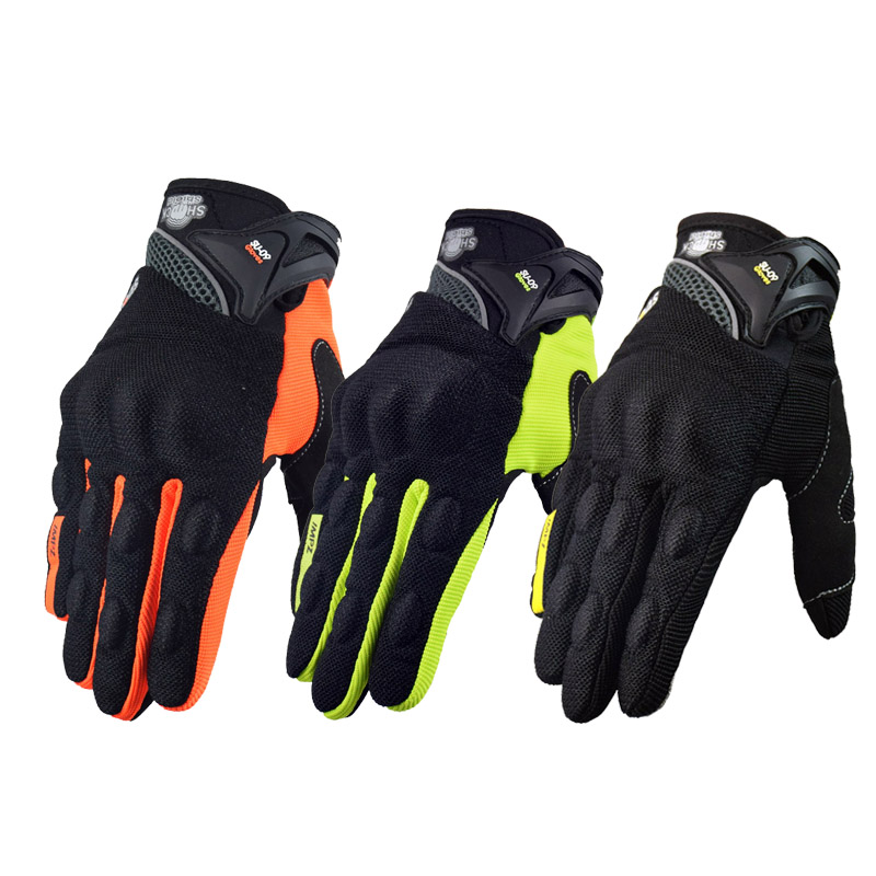 SUOMY Motorcycle riding gloves motorcycle gloves fit for Yamaha Harley BMW Full finger motocross motorbike gloves luvas da moto