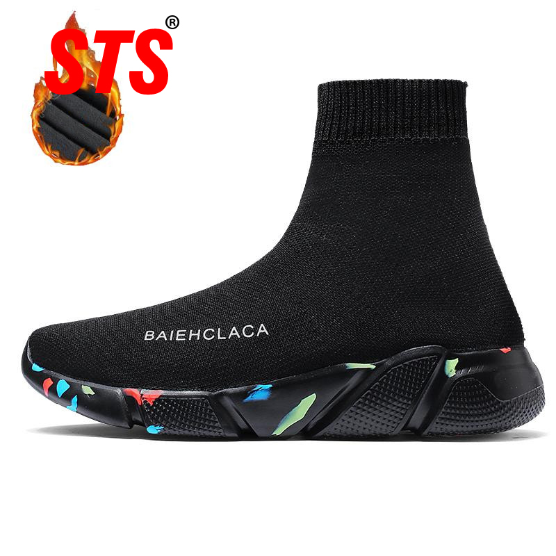 STS BRAND 2019 New Casual Shoes Unisex Sock Footwear Lover Comfortable Super Light Women Sneakers Fashion Breathable Mesh BootsSTS BRAND 2019 New Casual Shoes Unisex Sock Footwear Lover Comfortable Super Light Women Sneakers Fashion Breathable Mesh Boots