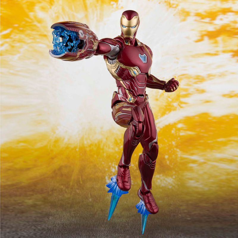 MK50 Mark infinity war Marvels Iron Man Armor PVC Action Figure Collectible Model Toy Brinquedos