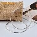 925 sterling silver jewelry hoop earrings modern stylish for women girls wedding party gift CHE0540