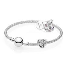 7463413e0464f1 Originale 925 Sterling Silver Bracciale Pandora Sempre Il Vostro Bracciale  Set di Gioielli per le Donne del Regalo