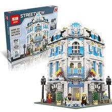 На Складе 3196 ШТ. ЛЕПИН 15018 Новый MOC Город Серии Sunshine Hotel Набор Строительные Блоки Кирпичи Совместим С 10196