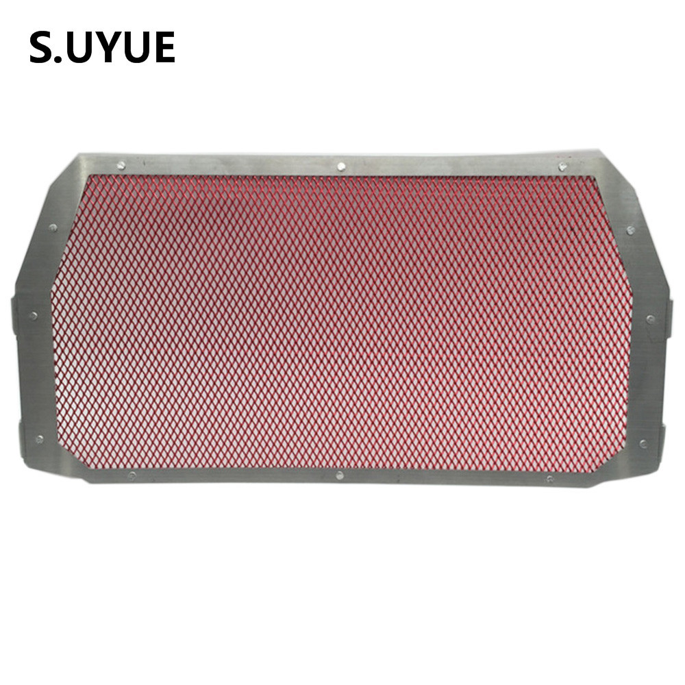 Motorcycle Radiator Protective Cover Grill Guard Grille Protector For Ducati Monster 821 1200 1200S 1200R 2014 2015 2016 arashi motorcycle parts radiator grille protective cover grill guard protector for 2003 2004 2005 2006 honda cbr600rr cbr 600 rr