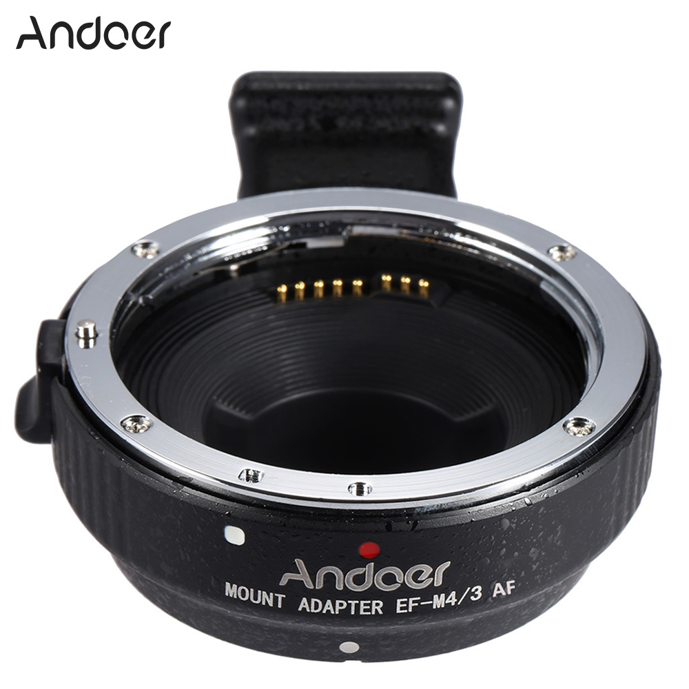 Andoer EF MFT Auto Focus Electronic Lens Mount Adapter Ring for Canon EOS EF EF S