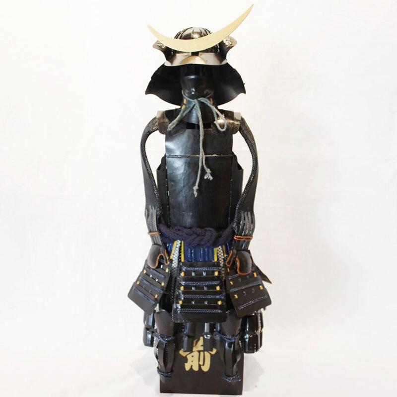 Sengoku samurajské brnění model / Starožitné japonské kovové brnění Datum Masamune / Bar Dekorace Oblíbené