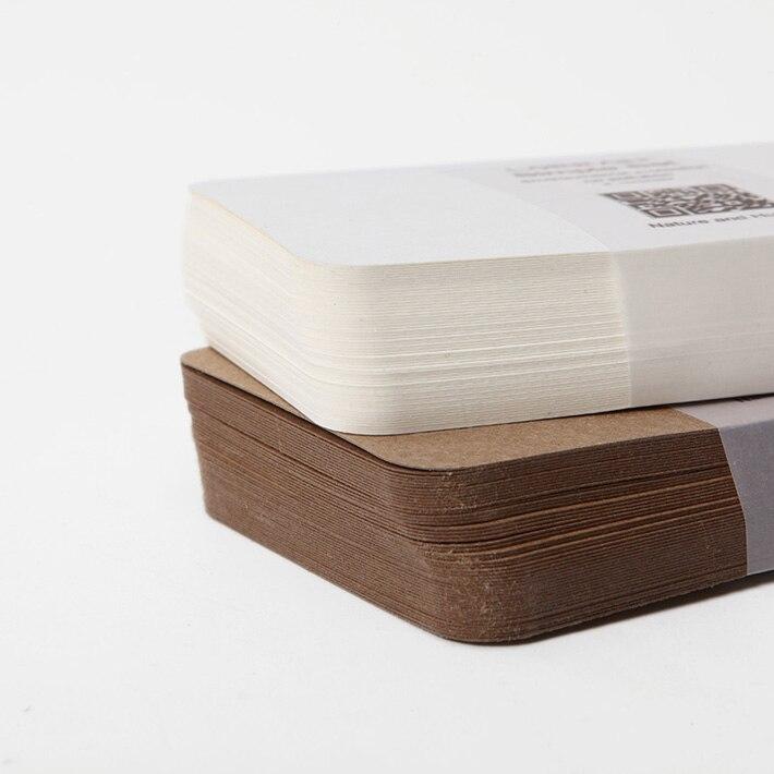 Купить с кэшбэком FREE SHPPING 120 Pieces Blank Kraft Paper Paperboard Cardboard Card Paper 350GSM