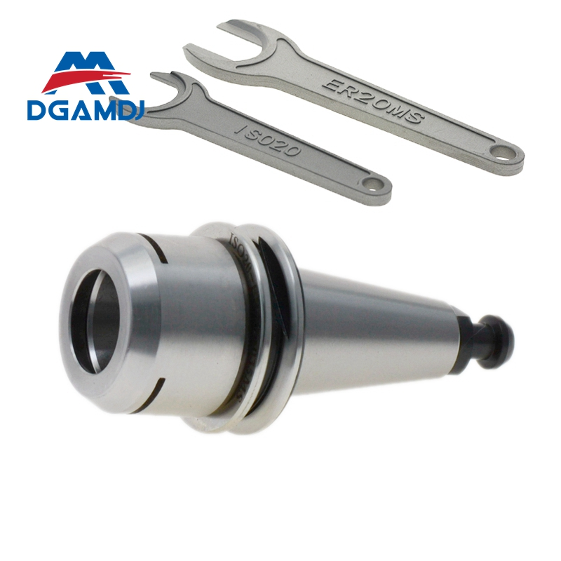 Stainless steel ISO20 ER20 balance high speed Collet Chuck holder 30 000RPM ISO Spindle holder for