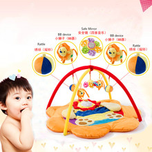 Baby climbing mat baby game blanket newborn music toy bracket play