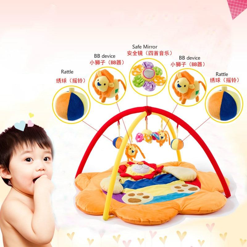Tapis d'escalade bébé jeu couverture nouveau-né musique jouet support bébé jouer couverture bébé jouer tapis