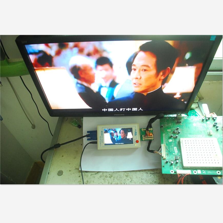 TKDMR TV160 LVDS generáció VGA átalakítóval a képernyő LCD / - Mérőműszerek - Fénykép 2